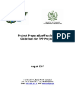 Project Preparation Feasibility Guidelines for Ppp Projects
