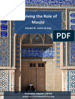 Reviving the Role of Masjid - Sheikh Hatim Al Haj