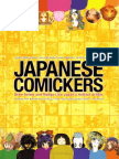 Japanese Comickers Draw Anime and Manga Lik