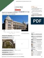 Muzeele Din Bucuresti Cu Intrare Libera _ Unde Iesim in Oras