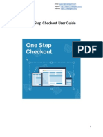 Magento One step Checkout extension - User Guide
