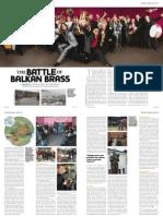 Balkan music article