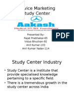 Study Center Service Marketing