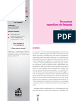 Trastornos específicos del lenguaje - 6to curso Actualización de Pediatría 2009