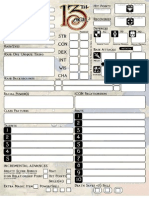 13th Age Character Sheet