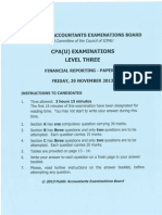 Cpa 13 Financial Reporting