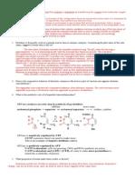 Enzyme Problem Set