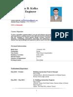 MEP CV