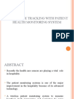 87085682 Wireless Patient Monitoring System to Measure Heartbeat Body Temperature and Respiration