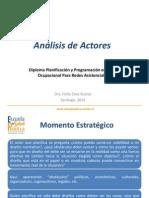Análisis de Actores