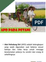 APD Pada Petani Fix