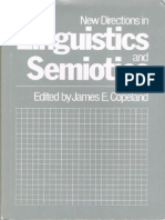 new directions in linguistics and semiotics copel and james e