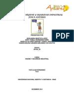 Manual de Higiene y Seguridad Industrial Finca Antares