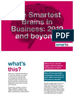 The smartest brains in business 2010 and beyound
