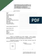 Formulir Pendaftaran Kompas Xii