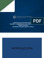 Curso 1/5 de Metodologia de la investigación - Maestria en Gestion Publica