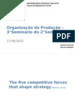 Organização da Produção - Porter