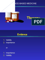 EBM on Therapy