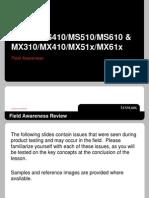 MSMX310-610 Field Awareness