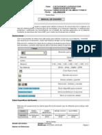 Vs Manual PP Calcinacion