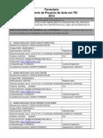Formulario Proyecto de Aula- Ucn