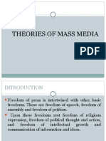 Theories of Mass Media
