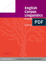 English Corpus Linguistics - An Introduction 179496392