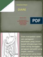 Ppt Farmakoterapi Diare Klp 1