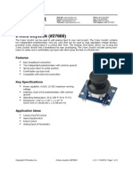 27800 2 Axis Joystick Documentation v1.2