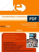 Caracteristicas y Estructura de La Noticia_0