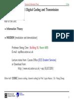 InfThe-L1, teorija informacija