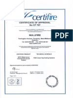 Certifire Certificates sample