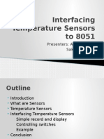 Interfacing Temperature Sensors to 8051