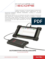 Autel MaxiScope MP408 - AUTOMOTIVE OSCILLOSCOPE