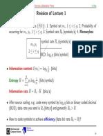 InfThe-L2, informacije mreze