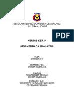 Kertas Kertas Kem Membaca 1Malaysia