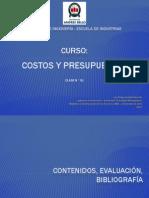 Clase N° 01_Costos y Presupuesto_UNAB