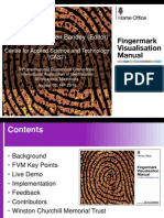 Fingermark Visualisation Manual Presentation IAI Aug 2014