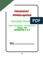 Program Tahunan Mtk