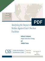 Iran US Preventive Strikes
