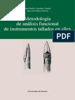 Metodologia de Analisis Funcional de Instrumentos Tallados en Silex (2)