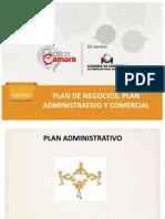 Plan Administrativo y Comercial