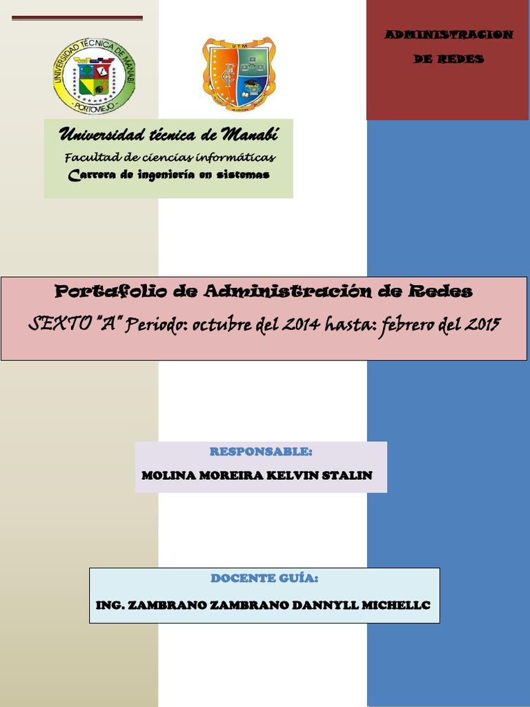 Portafolio de Administracion de Redes