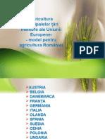Agricultura Principalelor Ţări Membre Ale Uniunii Europene
