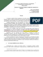Ciência Da Contabilidade Um Ensaio Teórico Sobre Seu Objetivo e Objeto Martins, e.; Carvalho. l. n. 2011 (1)