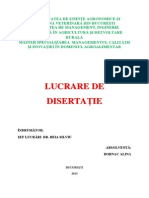 Disertatie Managementul Calitatii