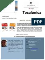 Cartel Tesalónica 2015