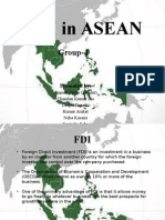 Fdi in Asean