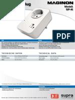 DB-Maginon SP-1E Smart Plug