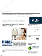 Lowongan Kerja Husky-CNOOC Madura Limited Februari 2015